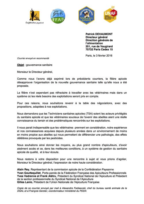 courrier_gouvernance sanitaire_160203 2